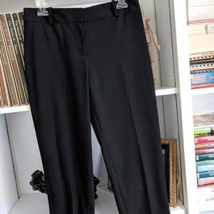 Talbots cropped black pants 8P Curvy